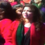 This girl Nadia was in Jhelum Jalsa and today she was in Gujranwala. Her job is to bus around 200 girls in PTI jalsa http://t.co/SlZNkqLPKV
