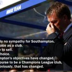 """@TSBible: Rodgers on Southampton in August. Liverpool are 12th, Southampton 2nd http://t.co/7YQoAIYaln"" how it feel how it feel? @X_HoneyB"