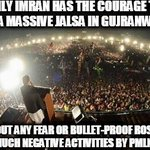 #GujranwalaStandsWithIK #ShameOnPatwarKhana #GujranwalaForPTI Brave People of Gujranwala won our hearts today http://t.co/XrTbDR18cU