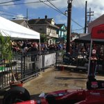 From the New Orleans Po Boy Festival on Oak Street. Weather, food, music and people - Homerun! http://t.co/7bh4cpsY1c