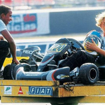 """""""They would even have races to eat pizza."""" Hamilton v Rosberg - a rivalry since childhood: http://t.co/nPqPebuaHP http://t.co/BFzSQH2JPc"""