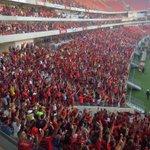 Cazá Cazá estremecendo a Arena Pernambuco http://t.co/SNf0og627P