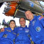 Сегодня на МКС отправятся @AntonAstrey, @AstroTerry и @AstroSamantha Подпишитесь, чтобы следить за новостями с МКС! http://t.co/pof5zwvwsX