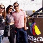 Que tal de guapos para el #212RMX !! Feliz de trabajar en @aztecajalisco con @mariabelenld y @Marcela_8a http://t.co/SFMkeYvK7S