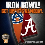 ICYMI: ESPNs @CollegeGameDay returns to Tuscaloosa this Saturday for the #IronBowl! #GetUp4GameDay http://t.co/kJr8ggo0m4