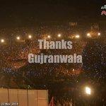 A Picture to Remember. #ThankYouGujranwala #GujranwalaStandsWithIK #GujranwalaForPTI But #ShameOnPatwarKhana http://t.co/ebgfJl5Pjj