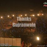 #GujranwalaStandsWithIK #GujranwalaForPTI ppl join hands with #IK by turning their mobile screens on. emotional scene http://t.co/f3ns4AUv3G