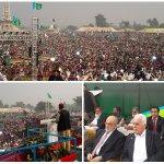 Yüzbinlerin katılımı ile gerçekleştirilen bu kongre için Pakistan Cemaat-i İslamiyi tebrik ediyorum. #WeAreWithHaq http://t.co/7DhVUNXLCG