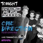The guys are performing live on @theAMAs tonight on @ABCNetwork at 8/7c... whos watching? #AMAs http://t.co/A38TnIACsT