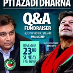 Twitter / @PTIOfficialUSA: Chicago! Be part of Histor ...