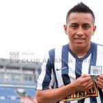 @ClubALoficial saluda Christian Cueva por su onomástico.Le desea éxitos con la casquilla blanquiazul #HoyTodosAMatute http://t.co/6b8Xaq8EKn