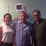 RT @oariascr: Very grateful, @DeepakChopra. Today, we suspended a lunch for my surgery but surprisingly he visited the hospital.