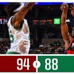 FINAL: #Blazers 94, #Celtics 88 PTS: LA 20 REB: LA 14 AST: 2 with 5 -- GAME STORY: http://t.co/JAG9Jw7dbC http://t.co/HtW0mKvTGT