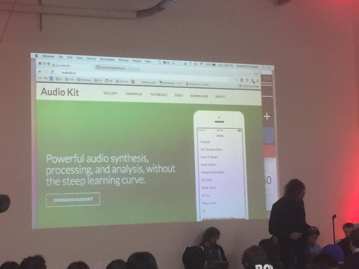 Presentations are starting thanks everyone for their hard work! First Team: AudioKit - Write Audio Apps #wkh14 http://t.co/RQtDw90w2q