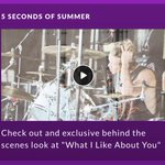 Be the first to watch a never before seen #BTS video of @5SOS on tour! #Shazam @TheAMAs now. #WhatILikeAboutYou #AMAs http://t.co/0Zbd1NRB0V