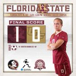 FINAL SCORE: @FSU_Soccer advances with a 1-0 victory over UCF. #Noles advance to play South Carolina in Elite 8 http://t.co/3e2Y3U0KiS