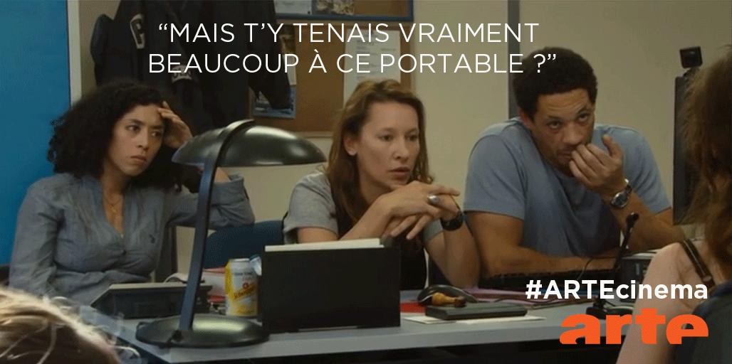 """""""C'était un beau portable"""" #Polisse #ARTEcinema http://t.co/pAKSV4JRUf http://t.co/fMZQzhSHnw"""
