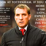 Brendan Rodgers' old words are coming back to haunt him after Liverpool's poor run of form continued. http://t.co/tZP3of6tpy