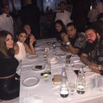 Dinner with the crew @CarlaDiBello @TheScottyCunha @steph_shep @frenchmontana @spifftv #Cipriani #AbuDhabi http://t.co/Fenr9JOON0
