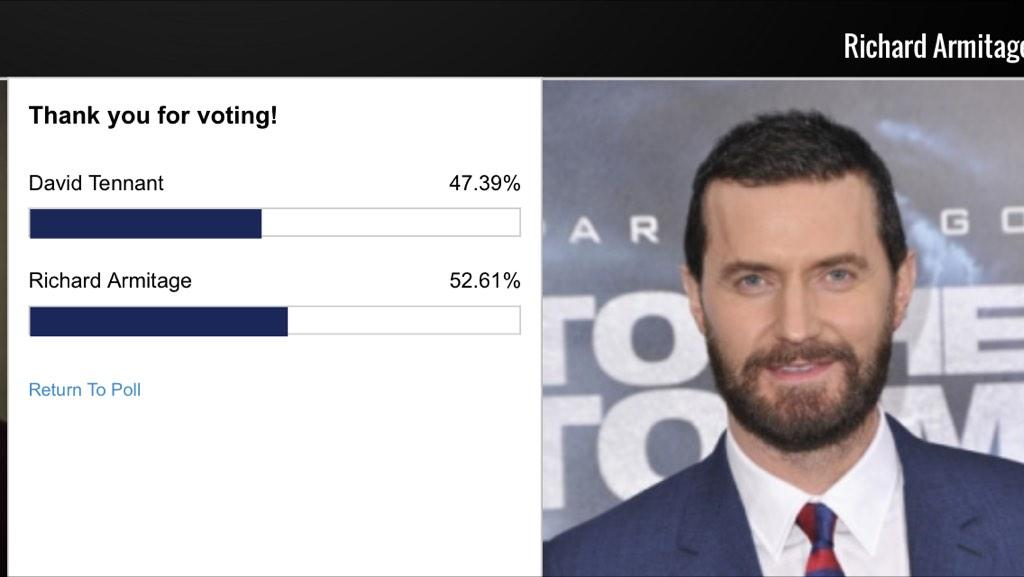 Let's have @RCArmitage win this battle : keep voting folks http://t.co/9BF8K3ZLa1 #AngloFanFavorites #RichardArmitage http://t.co/X1oUOk4Qeb