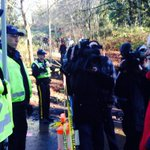 "David Suzuki greets RCMP officers. One officer says ""Ive always wanted to meet you!"" #BurnabyMountain http://t.co/TTJEQEQwzv"