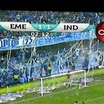 Y el generador de caracteres de @Gamatvec ya anunciaba empate de 1-1 #Emelec - #Independiente http://t.co/R8R1pcTTDT
