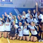 #CCU Volleyball & I celebrating the big @CCUVolleyball win! #goteal #tealnation #chantnation http://t.co/BZIX4BJU4K