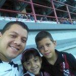 Ya en el Agustín Tovar con mis Toñecos Apoyando al Bicampeon #ZamoraFc #VamosZamoraFc #SoyZamorano @RincnBlanquineg http://t.co/fspR179Bdd