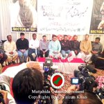 Day 10 DC Khalid Maqbool Press Briefing About #JoinMQM MemberShip Campaign at #MQM Sector H @WasayJalil @abidghouri3 http://t.co/eaVrDb7Hxr