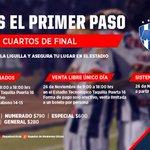 ¡Información de boletos @Rayados en Cuartos de Final @LIGABancomerMX! #VamosRayados http://t.co/tCPpg2tkdF