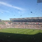 """""""@mariashriver: At the @LAGalaxy game. So fun http://t.co/zkivq0wBoM"""" sorry, rooting for @SoundersFC!"""