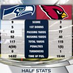 Half Stats: Seahawks are +1 in the turnover battle. #AZvsSEA http://t.co/tgH6MvrBOG