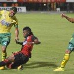 Gol del Cúcuta Deportivo. Atlético Bucaramanga cae 0-2 ante los 'motilones'. El 'leopardo' está quedando eliminado. http://t.co/uFWE6WsJ88