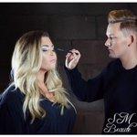 Make up by myself on set of A/W creatives shoot. #SMbeaute #MUA #makeupartist #manchester #freelance #bbloggers http://t.co/G42uUJyMSz