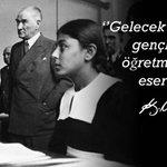 """Başöğretmen Mustafa Kemal Atatürk başta olmak üzere tüm öğretmenlerimizin """"24 Kasım Öğretmenler Günü"""" kutlu olsun! http://t.co/yhoSfIjJjO"""