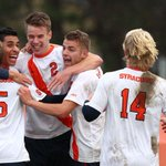 Let's go @Cuse! @SUMensSoccer advances to the Round of 16 after a big 2-1 win over Penn State! http://t.co/L8h8JziYXo http://t.co/mn1qkSNTza