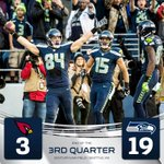 FOURTH QUARTER!!! Cardinals have the ball 1st & 10 on the SEA43. #FINISH #AZvsSEA http://t.co/OrptlU4VIy