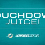 Tannehill to JUICE for the TOUCHDOWN!!! #StrongerTogether #MIAvsDEN http://t.co/mEBCwQL2sH