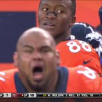 Broncos' Manny Ramirez and Demaryius Thomas were not pleased after a Denver missed FG http://t.co/NEEhRx0nNI http://t.co/Nf0hVBwZtA