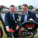 Delighted Galway Bikes will be launched tom by @Paschald enjoyed working w Hugh Cregan from @tfiupdates @niallmcnelis http://t.co/Ee0z70nnpz