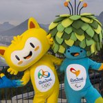 Os mascotes para os Jogos Olímpicos e Paralímpicos de 2016. http://t.co/KOg43G71H5 http://t.co/j13jmR3rWG