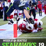 The Seahawks played like the Super Bowl team of a year ago in a resounding 19-3 victory against the Arizona Cardinals http://t.co/Z6VitW3F8H