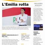Domani il manifesto non esce ma #laprima sullEmilia Romagna lavevamo già fatta due mesi fa... http://t.co/cS12foRl8G