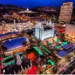 Salt Lake City in the Winter Time...😌😌😌 #Snow #TempleLights #LDS http://t.co/avSXHzOyaT