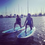 Good morning! Its SUP Yoga time at #matildabay on @9newsperth with Jane from Ocean Zen Yoga. See more at 8.30am http://t.co/FK9hNuAML0