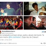 El hijo de Maduro felicita a su padre con un emotivo mensaje y fotos únicas en Twitter http://t.co/IWA42IyzYf http://t.co/6bFps0QfLm