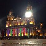 Decoraciones navideñas en la capital, resultan ser todo un espectáculo @VivaNicaragua13 http://t.co/fckWMULrdL
