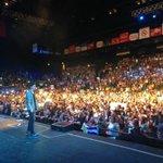 Increíble como esta el Luna Park esta noche por el concierto de @AbrahamMateoMus ! http://t.co/UCXe3iMUUL