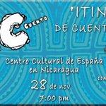 #ViernesDePuroCuento Narrador Panameño nos conecta con la cultura viva de su país @CCENicaragua @NICASSITEJ #FB http://t.co/1JjPARdjPP