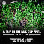 Its going to get LOUD at @CenturyLink_Fld next Sunday. Tickets: http://t.co/fyvL9242XV #SEAvLA http://t.co/iT6y1oWZOo